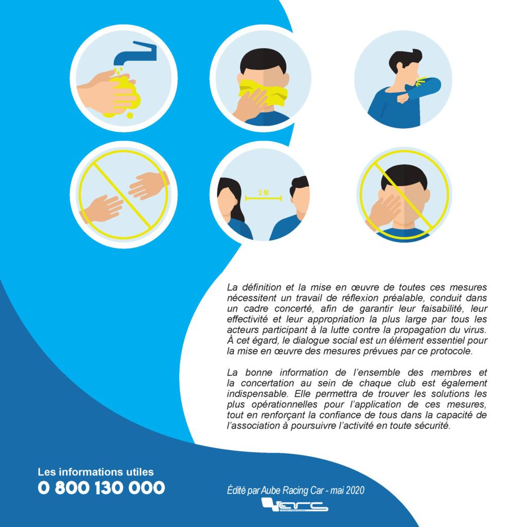 Protocole Sanitaire - Mesures Barrières - Section Modélisme Radiocommandé 1/28 Protoc26