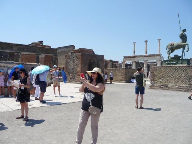 Une grand bond dans l'histoire en Italie Pompei45