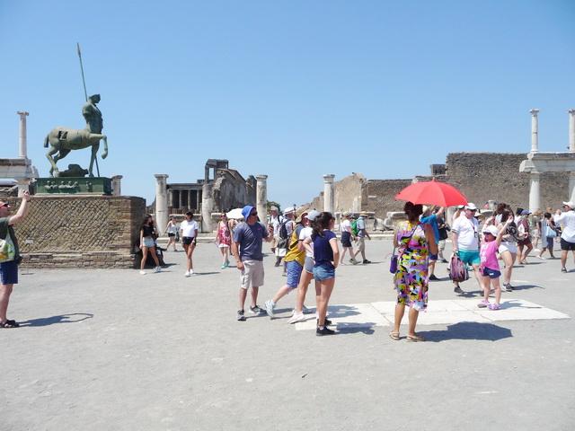 Une grand bond dans l'histoire en Italie Pompei46