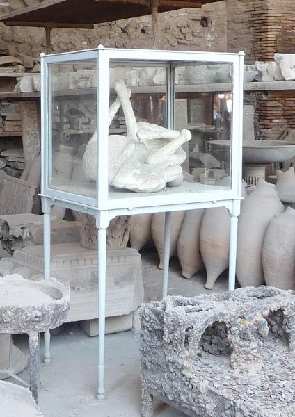Une grand bond dans l'histoire en Italie Pompei47