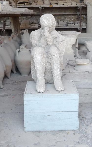 Une grand bond dans l'histoire en Italie Pompei48
