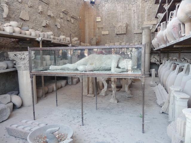 Une grand bond dans l'histoire en Italie Pompei51