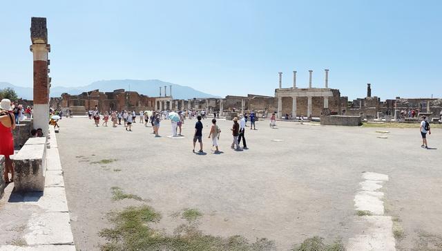 Une grand bond dans l'histoire en Italie Pompei52