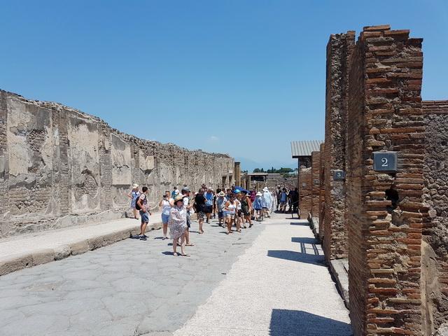 Une grand bond dans l'histoire en Italie Pompei58