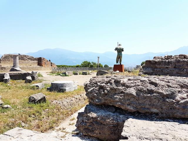 Une grand bond dans l'histoire en Italie Pompei65