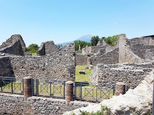 Une grand bond dans l'histoire en Italie Pompei66