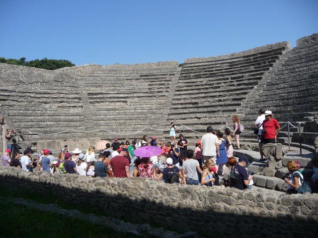Une grand bond dans l'histoire en Italie Pompei69