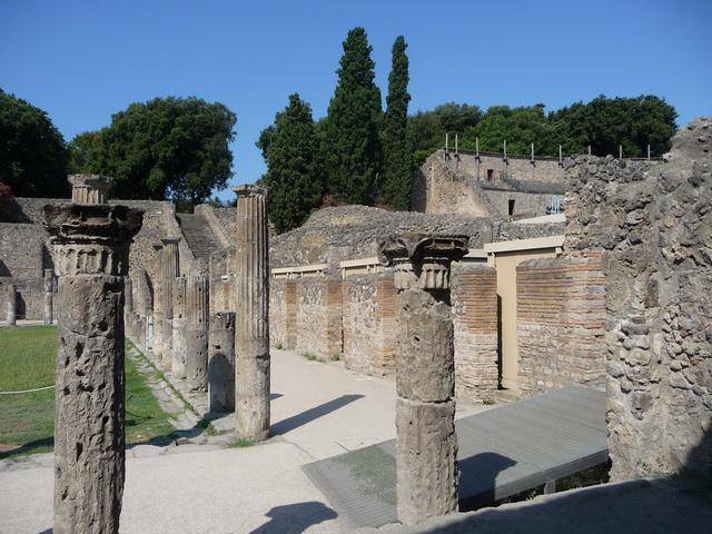Une grand bond dans l'histoire en Italie Pompei70