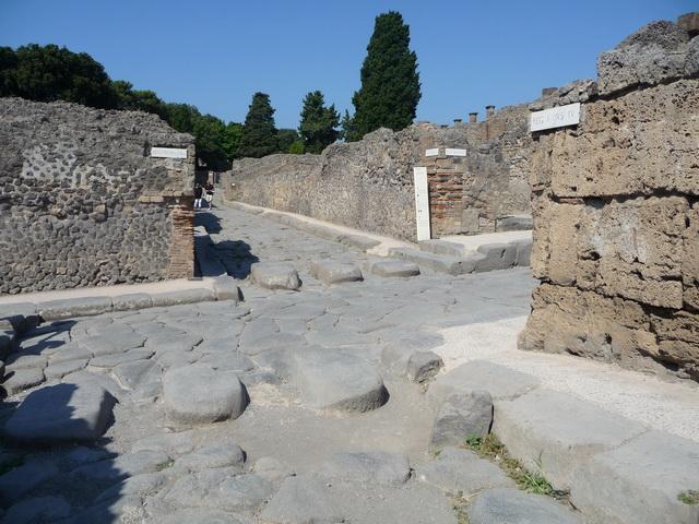 Une grand bond dans l'histoire en Italie Pompei72