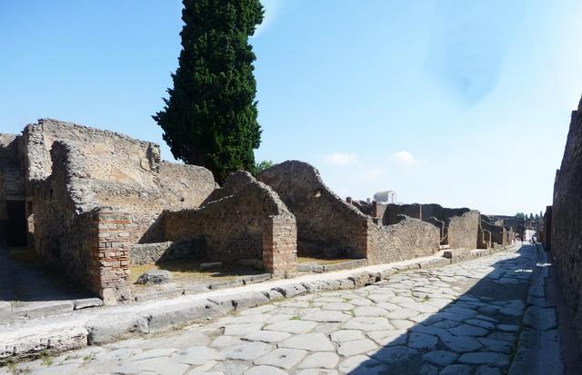 Une grand bond dans l'histoire en Italie Pompei75