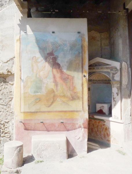 Une grand bond dans l'histoire en Italie Pompei82