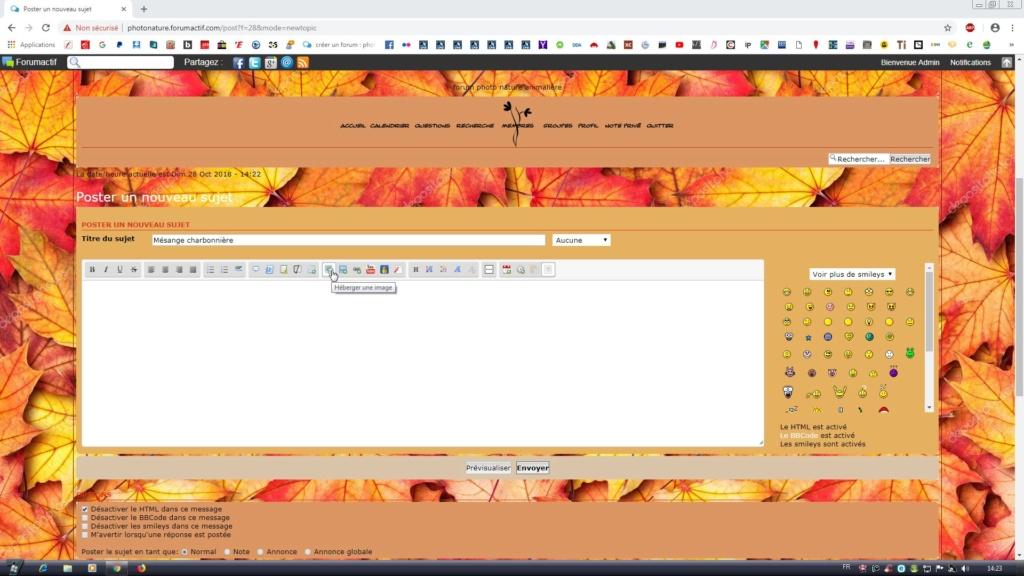 [tuto]Poster un sujet avec photos sur le forum. Forumc14