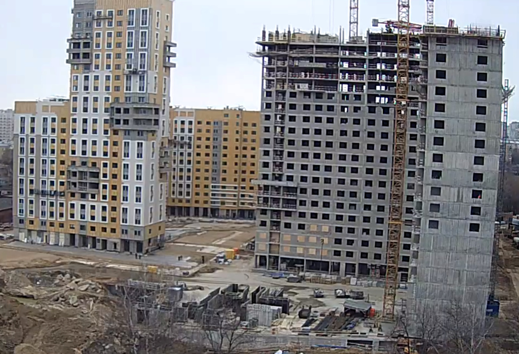 """Веб-камеры на площадке строительства ЖК """"Нормандия"""" - Страница 12 111110"""