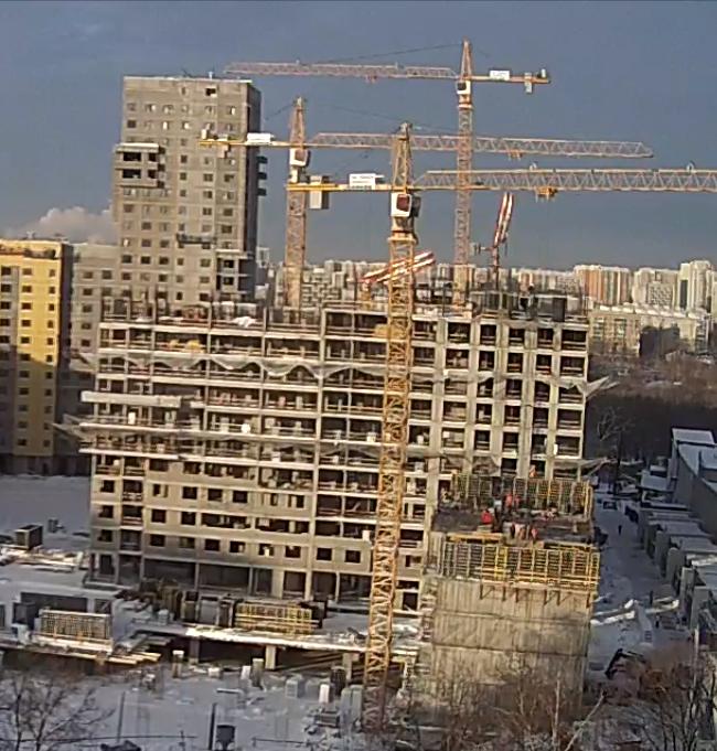 Строительство 5 корпуса 310