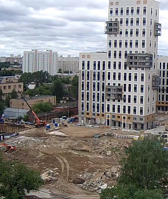 """Веб-камеры на площадке строительства ЖК """"Нормандия"""" - Страница 14 510"""