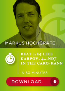 Markus Hochgräfe - Beat 1.e4 Like Karpov - 4...Nd7 In The Caro-Kann (in 60 min) Bp_78310