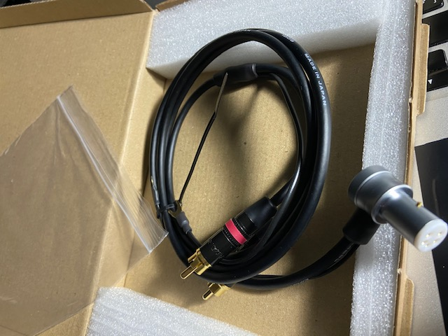 Cable de phono de Yannis Tome Img_8711