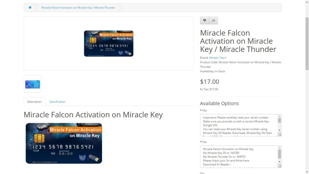 activar Miracle Falcon en miracle box???? Falcon10