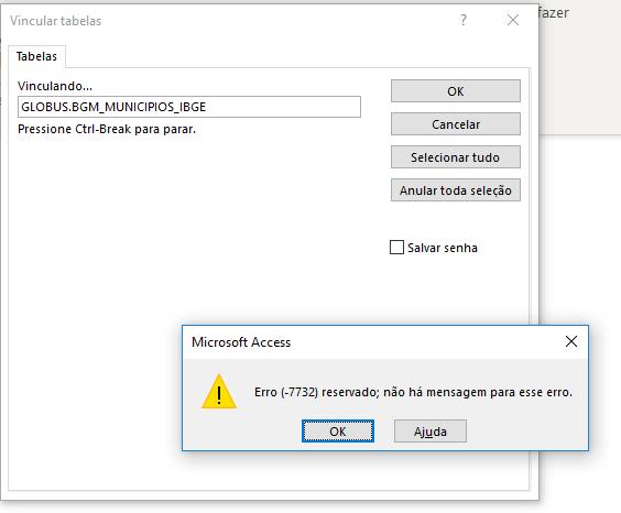 Erro vinculação Access com o Oracle - Erro (-7732) reservado Erro_a11