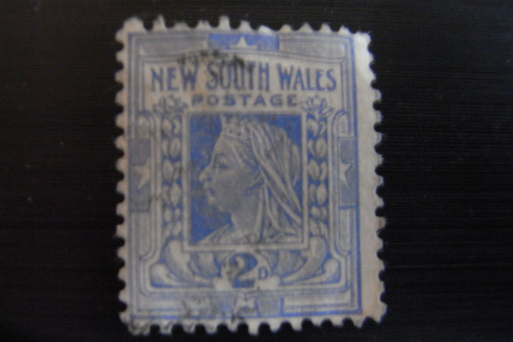 Briefmarke  Neusüdwales Rimg0011