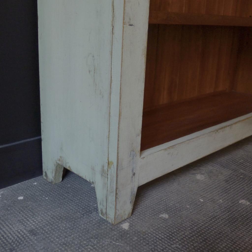 Bibliothèque patinée  L1050315