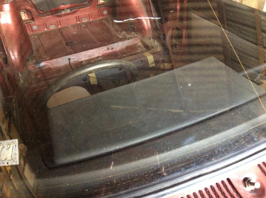 vends caisse nue avec papier et lot de pieces cabriolet E36a5010