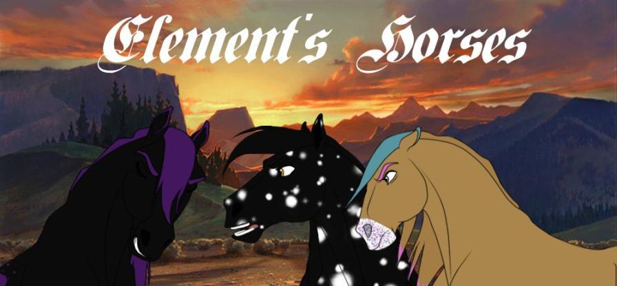Element's Horses ¤ RPG Équin Fantastique