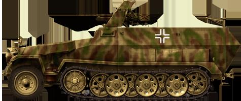 Pak 35/36 calibre 37mm BRONCO 1/35 Sdkfz-10