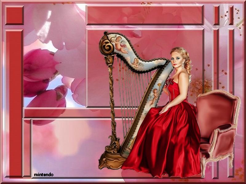 Défi/ Femme à la harpe 84af8510