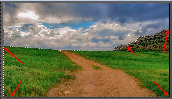 Tutoriel photofiltre studio /Changer la couleur d'un ciel. 0118