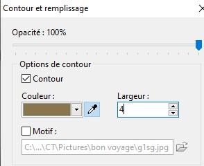 """Tutoriel  """" Bon voyage """" 2410"""