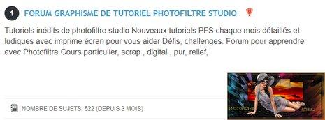 Forum graphisme de tutoriel Photofiltre Studio - Portail Logo_a14