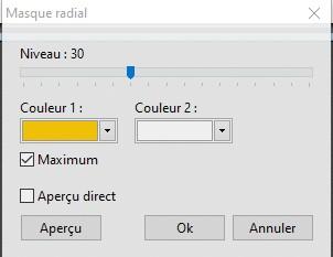 """Faire un bouton avec le """" Masque radial"""" Masque11"""