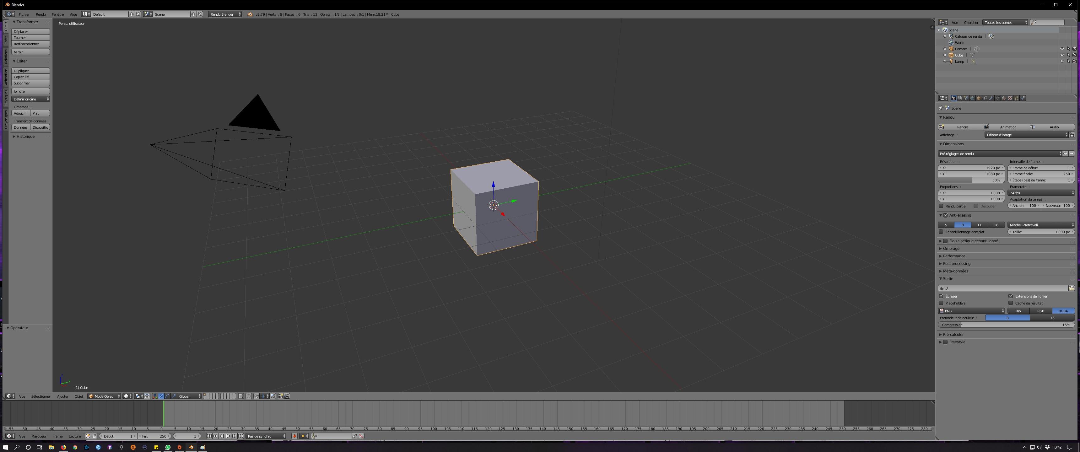 [3D / Blender 2.79B] 000212