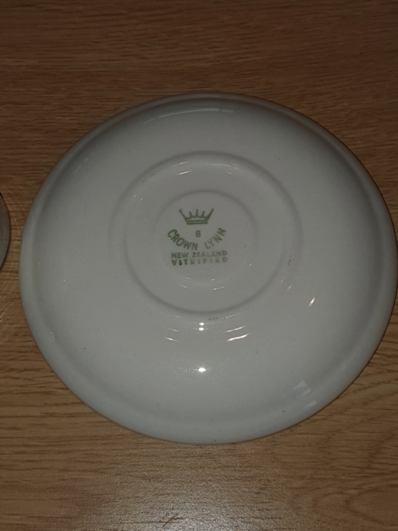 NZ Army Egg Cup and Saucer 20190715