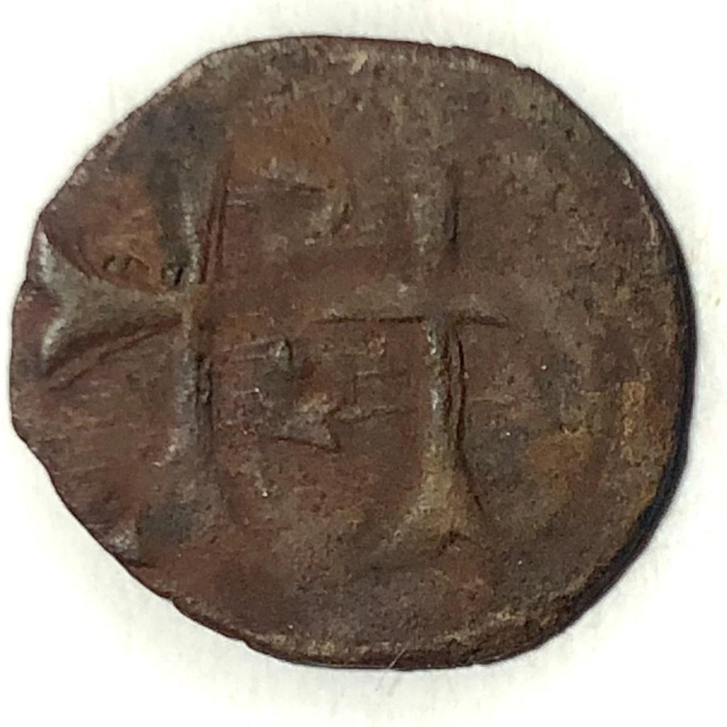1/4 de denar de vellón de Segismundo de Luxemburgo. Hungría R12