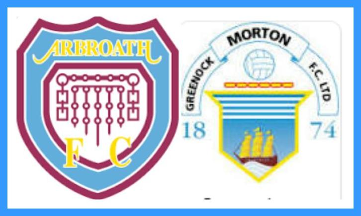 ARBROATH V MORTON SATURDAY 19TH OCTOBER Ipiccy10