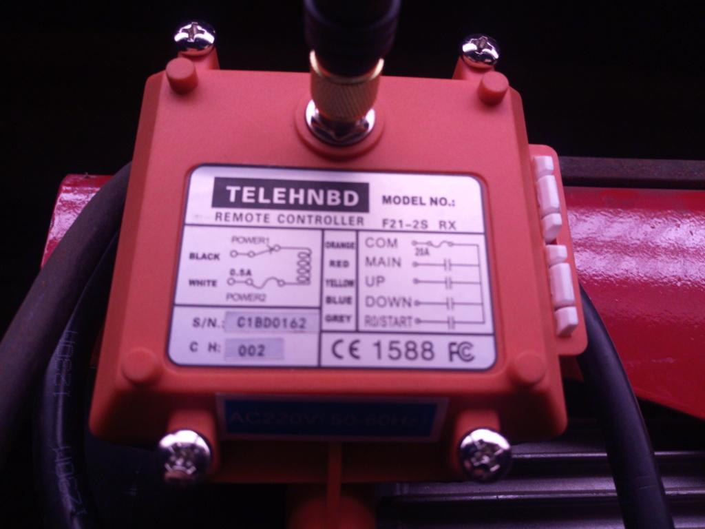 adaptation. Palan 1T 220v filaires avec telecommande sans fils. Img_2013