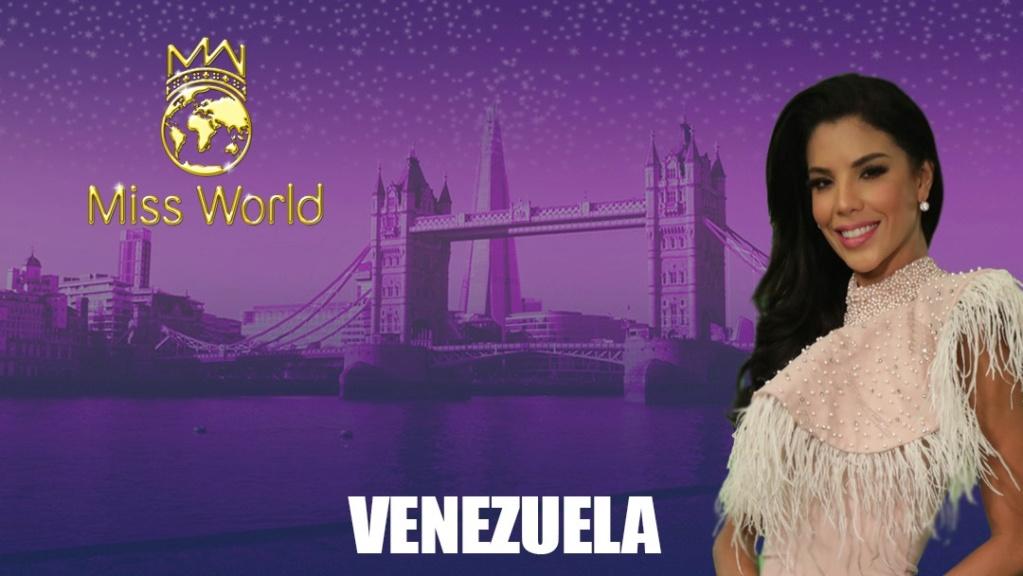 Round 36th : Miss World 2019 1321