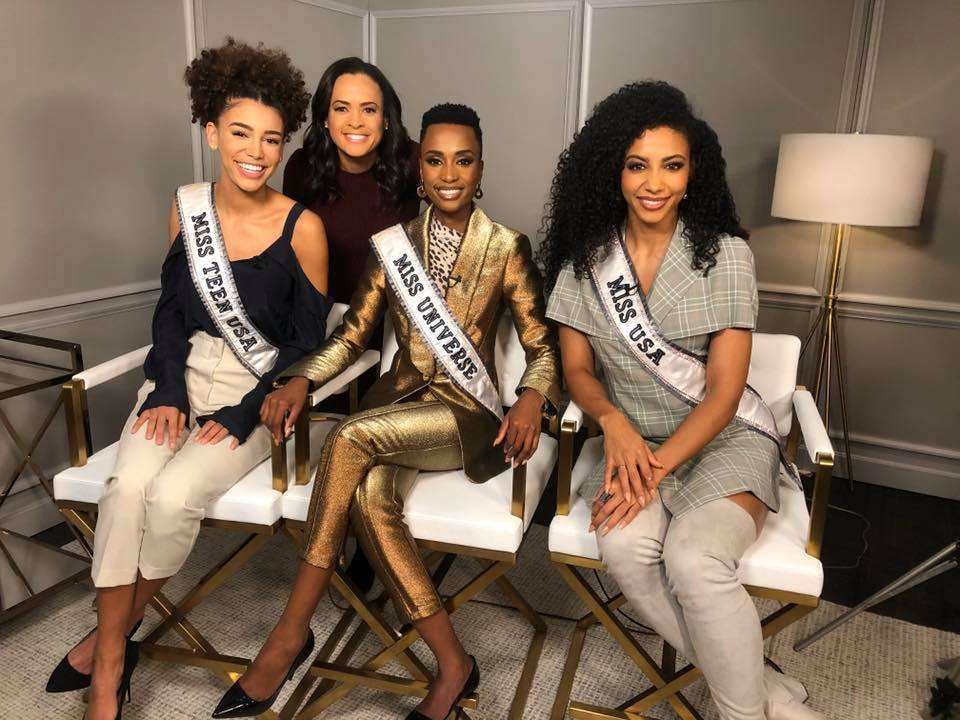The Official Thread Of Miss Universe 2019 : Zozibini Tunzi of South Africa - Page 2 79349510