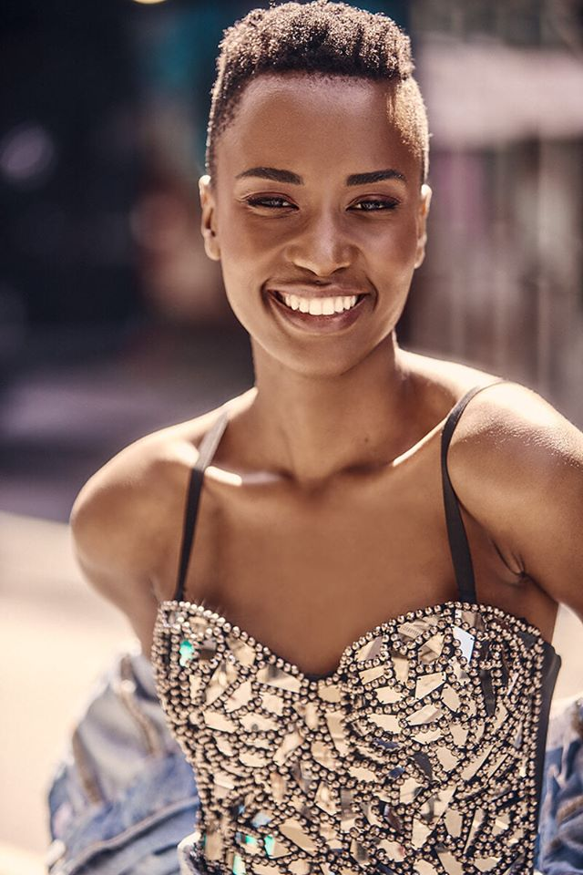 The Official Thread Of Miss Universe 2019 : Zozibini Tunzi of South Africa - Page 4 79979810