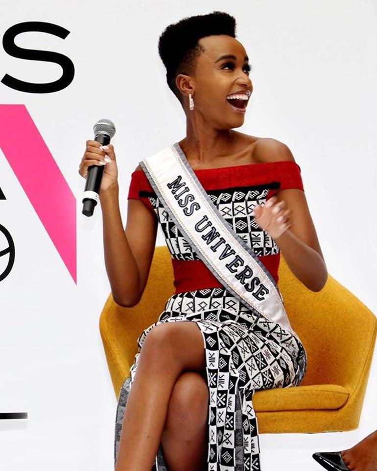 The Official Thread Of Miss Universe 2019 : Zozibini Tunzi of South Africa - Page 4 85100210