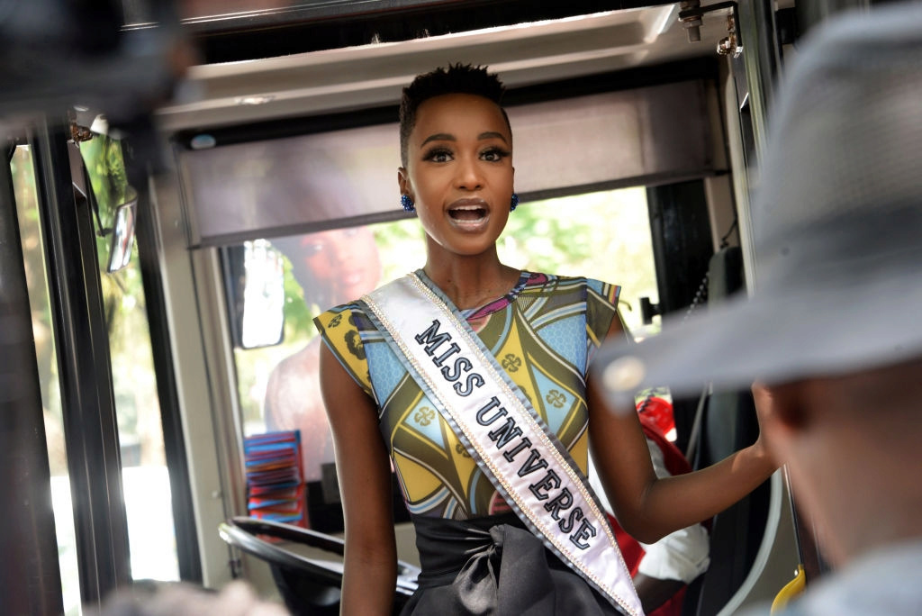 The Official Thread Of Miss Universe 2019 : Zozibini Tunzi of South Africa - Page 4 86180210