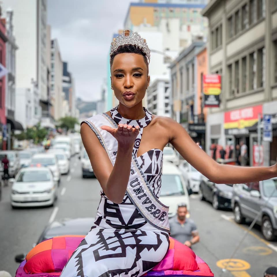The Official Thread Of Miss Universe 2019 : Zozibini Tunzi of South Africa - Page 4 86659810