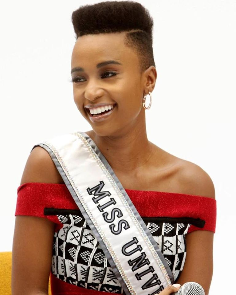 The Official Thread Of Miss Universe 2019 : Zozibini Tunzi of South Africa - Page 4 86796010