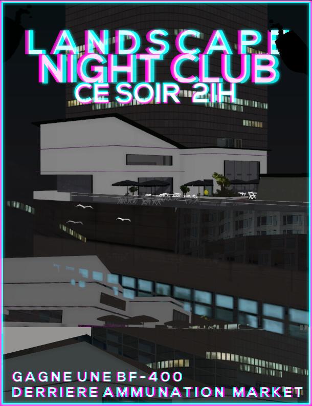 [FLYER] Landscape Night Club, ce soir 21h00. Flyer11