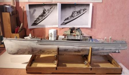 Chasseur sous-marin CH123 au 1:50 Plan AAMM Radoub10