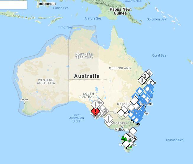 اقتراب الحرائق من العاصمة كانبيرا و حالة تأهب قصوى باستراليا 4410