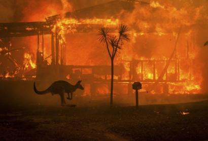 اقتراب الحرائق من العاصمة كانبيرا و حالة تأهب قصوى باستراليا _1104010