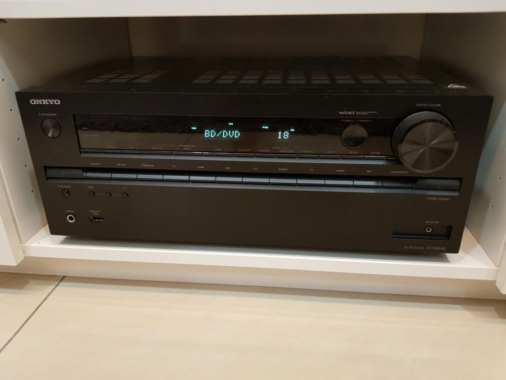 ONKYO 7.2 AV RECEIVER TX-NR646 (used) 20200212